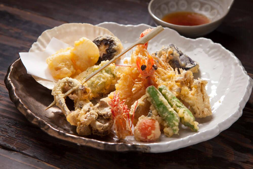季節のおまかせ天ぷら