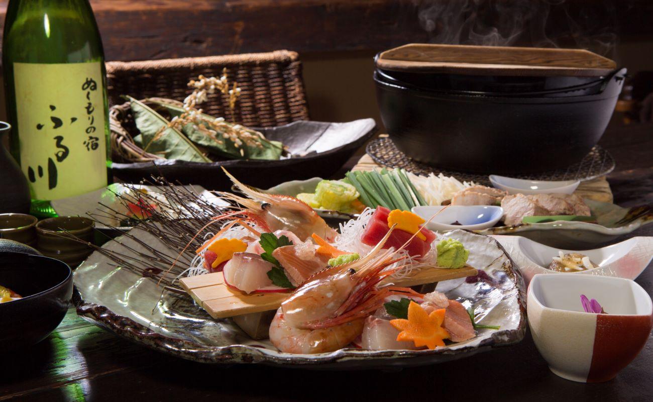ふる川 冬の和食コース(1月20日~3月中旬)
